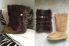 Since a lot of you will be giving and receiving UGG boots over the Holidays I thought this craft would be a perfect post to leave you with until after Christmas. My husband and I went to the Niagar...