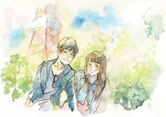 Takumi×Yuri   東京のカップル   Lovegraph(ラブグラフ)カップルフォトサイト