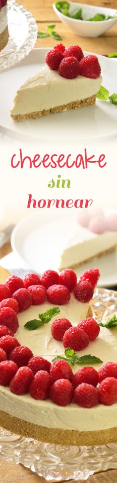 ideas cheese cake sin horno recetas for 2019 No Bake Desserts, Delicious Desserts, Dessert Recipes, Yummy Food, Tasty, My Recipes, Sweet Recipes, Favorite Recipes, Nutella Cookies Easy