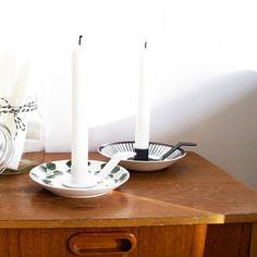 DIY candleholder. Here made of Berså and Spisa Ribb.