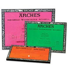 """Arches Watercolour Blocks <font color=""""#fe9a2e""""><b><i>*staff pick!</i></font></b> -"""