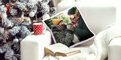 Your Photo as Personalised Cushion: Glossy Photo Cushion Premium Photo Cushion, matte