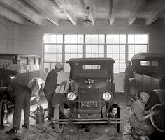 Auto body shop 1926