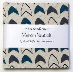 Modern Neutrals Charm Pack by Amy Ellis for Moda. by StacksOfStash, $7.75