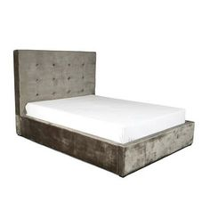 SIMBOLO STORAGE BED QUEEN CHARCOAL