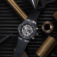 The ultra-light carbon fiber case and Unico Movement are exemplary of Hublot's manufacturing prowess. See more from Hublot at Deutsch & Deutsch McAllen. http://deutschjewelers.com/mcallen #hublot #deutschmcallen #deutschjewelers #deutschanddeutsch #wherelifehappens