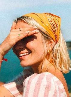 Lenço e bandanas: 10 maneiras de como usar