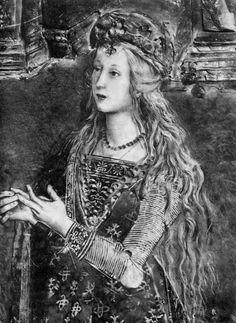 Lucrezia Borgia | painting | fresco