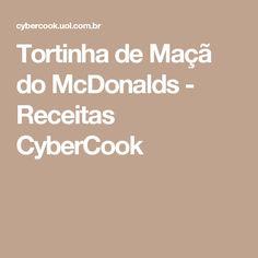Tortinha de Maçã do McDonalds - Receitas CyberCook