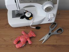 Black and White Penguin Pin Cushion/Covered Retractable Tape Measure, Hand knitted by knitsummore on Etsy Little Critter, Tape Measure, Stocking Fillers, Pin Cushions, Fiber Art, Penguins, Hand Knitting, Kids Toys, Colours