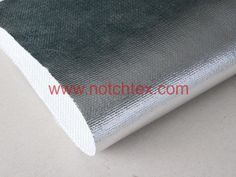 Aluminized fabric or aluminium coated fabric is fiberglass fabric laminated with aluminium foil on the  surface to meet customer demands.