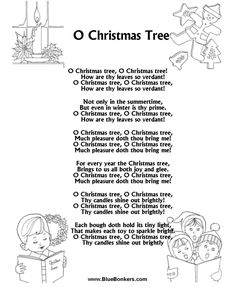 Trees, Christmas songs lyrics and Words on Pinterest