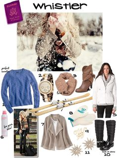 What to Pack for a Whistler Ski Trip!