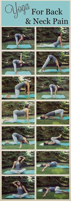If you suffer from back or neck pain, give some of these yoga poses a try . Thes… If you suffer from back or neck pain, give some of these yoga poses a try . These poses are simple to do, even if you have never done yoga before. Fitness Workouts, Yoga Fitness, At Home Workouts, Fitness Motivation, Health Fitness, Workout Routines, Fitness Quotes, Exercise Motivation, Fitness Diet