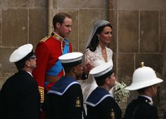 Prince William in Royal Wedding - Carriage Procession To Buckingham Palace And Departures