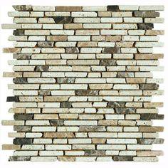 us ceramic tile nerva stone 12 in x 12 in natural stone floor - Backsplash Tile Home Depot
