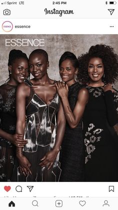 Black  Panther female cast