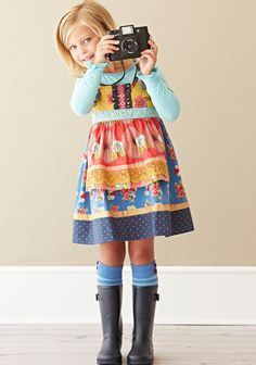 Barn Party Knot Dress - Matilda Jane clothing