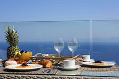 Enjoy your #breakfast in a #luxurious #seaview #villa with breathtaking view! . https://ift.tt/2mkgEMv . #vacation #enjoysummer #holidays #instapic #goodmorning #instatravel #luxuryrentals #view #vacationmood #booknow #luxury