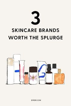 The only three skincare products that are worth your money