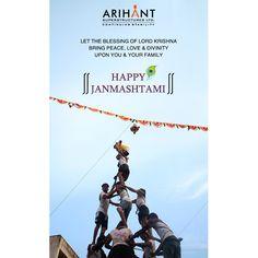 Team Arihant wishes you all a very Happy Janmashtami #Janmashtami2017 #Celebration #Occasion #Divine