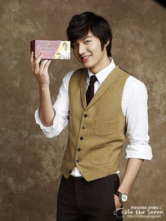 Lee Min Ho for Cantata, Cafe the Seven.