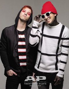 Josh looks like a real bad boy and Tyler looks like a bad boy trying to look like a good boy
