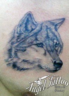 wolf tattoo www.tattooandtattoo.com