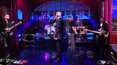 "David Letterman: ""Are Those Your Drums?"""