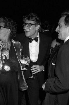 Yves Saint Laurent et Pierre Bergé le 20 Septembre 1978 à New York. Photographie de John Bright.