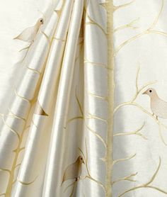 Richloom Birdhouse Ivory Fabric $27.05