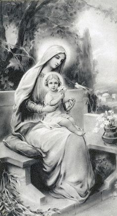 Being raised in my Catholic Faith by my Grandparents and my family. I knew Jesus & Mary as a child, because of what I was taught. I know Jesus & Mary now, because I have faith and I believe. Thank you...