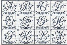 Gallery.ru / Фото #50 - Sajou Passion des Alphabets Anciens - Orlanda