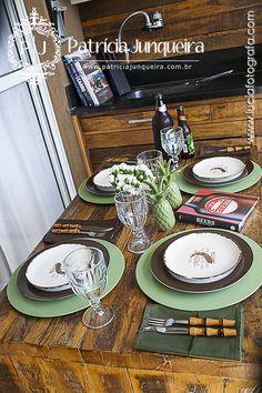 Receber amigos para um churrasco com muito charme! Saiba com colocar uma mesa informal, mas com todo capricho! #dfilipa