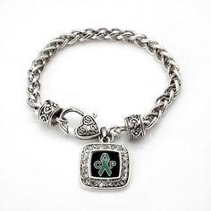 Cerebral Palsy Support and Awareness Bracelet - a sterling silver bracelet