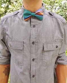 Pre-Tied 80's Bowtie by BowMeAwayByAlexandra on Etsy