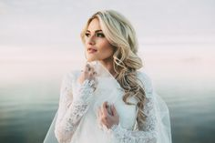 Witney + Carson Winter Lake Bridals