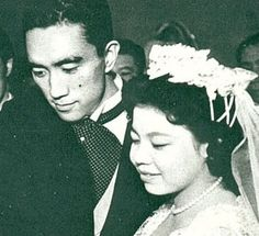 Yukio Mishima married in June of 1958 but letter confessed to his homosexuality