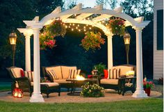 Enhance outdoor get-togethers with seating groups, firepits, and more fresh-air finds. Classic white pergolas and metal dining sets lay the groundwork for patio heaters and string lights, while coolers, ice buckets, and serving essentials tie together your patio's festive feel.http://www.wayfair.com/daily-sales/Sunset-Soiree%3A-Seating-%26-More~E15047.html?refid=SBP.rBAZEVQx9PoUF1p5jL7yAicFQ1ucG0qfmij4-japLFE