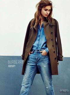 denim # Burberry - Fashion Editorial