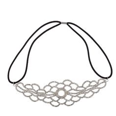 Lux Accessories Bride Bridal Wedding Bridesmaid Stretch Headband * Want to know more, click on the image.