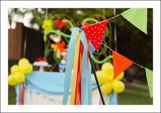 Birthday Party Balloon Theme - Babybites.co.nz