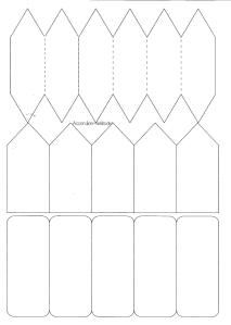 Mini book templates