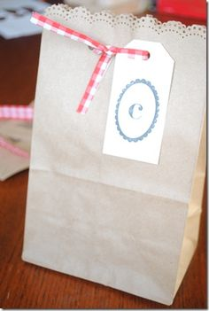 How to package frozen cookie dough for a special Christmas gift.