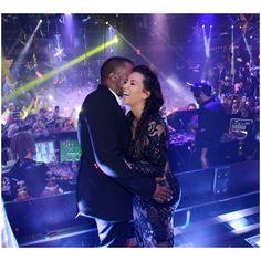 Kim Kardashian Wearing Julien MacDonald - Vegas New Year's Eve... via Polyvore
