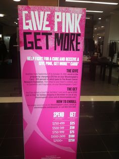 Bloomingdale, Charity Promotion