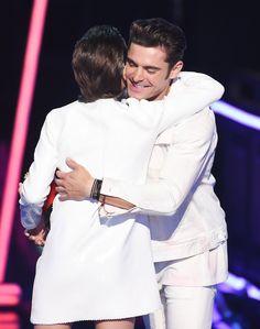 Millie Bobby Brown, Smart Girl, Hugs Zac Efron at the MTV Awards