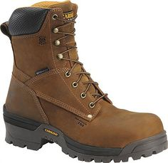 Carolina Waterproof Broad Toe Logger Style 8 Inch Men Boots CA8525