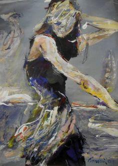 """Saatchi Art Artist Manlio Rondoni; Painting, """"rivista di moda"""" #art"""