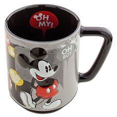 "Classic Mickey Mouse Mug...LOVE. I really like how it says ""Oh My"" on the inside!"